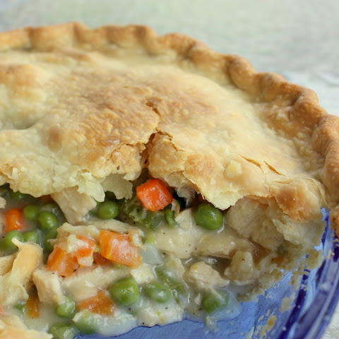 Chicken Pot Pie with Whole Grain Crust