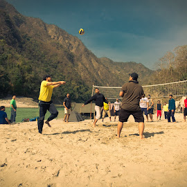 Take my volley by Kshitij Bhaswar - Sports & Fitness Other Sports ( sports photography, voll, volleyball, sports )