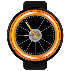 Watch Face Sport Bike