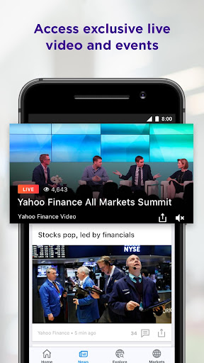 Yahoo Finance screenshot 5
