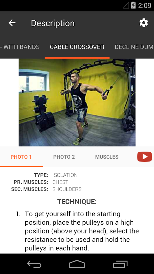 Gym App Training Diary Pro Screenshot 3