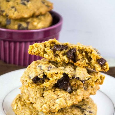 Healthy Oatmeal Chocolate Chunk Cookies