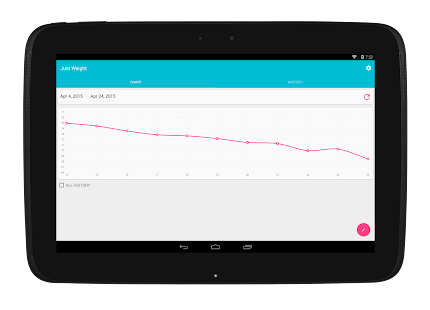App Just Weight. Track Your Weight apk for kindle fire | Download ...