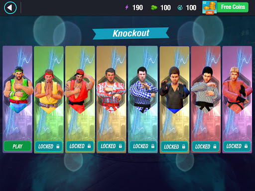 Karate King Fighter: Kung Fu 2018 Final Fighting screenshot 7