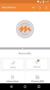 Moti Mahal, Business Bay - screenshot