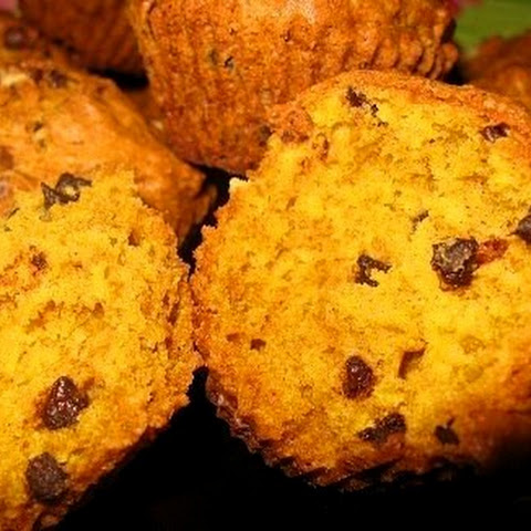 Pumpkin Muffins With Honey And Raisins