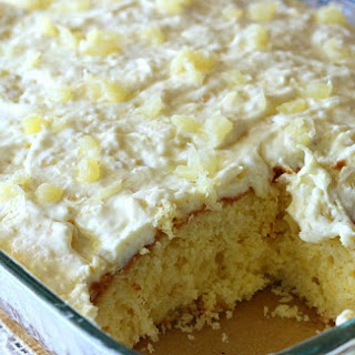 Yellow Cake With Crushed Pineapple Recipes