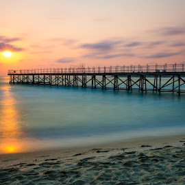 Sea morning by George Ivanov - Landscapes Sunsets & Sunrises ( peaceful, nature, sea, seascape, sunrise, sunlight )