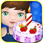 Baby birthday cake maker Icon
