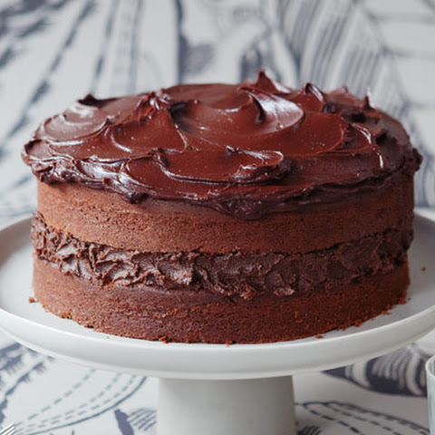 Chocolate Cake To Have With A Glass Of Milk