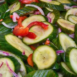 Vegetable Platter  by Lorraine D.  Heaney - Food & Drink Fruits & Vegetables
