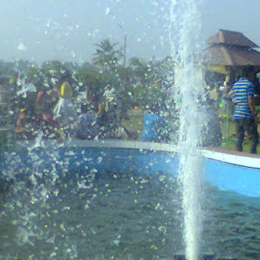 emergence of lives by Jayita Mallik - City,  Street & Park  Fountains ( environment, park, art, fountain, health, public )