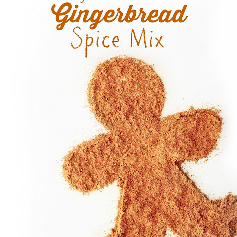 "German Style Homemade ""Lebkuchen"" Gingerbread Spice Mix"