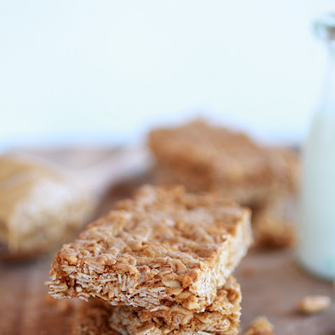 Crunchy Oatmeal Peanut Butter Oats 'n Honey Bars