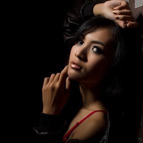 Temptation by Arifandi Raditya - People Portraits of Women ( model, sexy, beauty, women, lowkey, portrait )