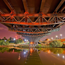 Hayarkon by Joel Adolfo  - Buildings & Architecture Bridges & Suspended Structures ( buildings&architecture, other exteriors )