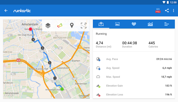 Runtastic Running & Fitness APK screenshot thumbnail 19