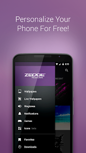 Free ZEDGE™ Ringtones & Wallpapers APK for Windows 8