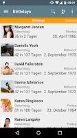 Screenshot of Birthdays - Free