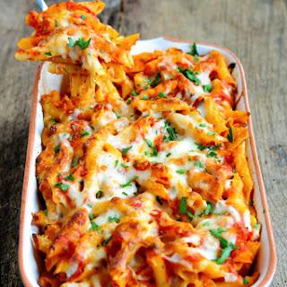 Cheesy Baked Ziti No Ricotta Recipes