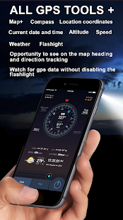 All GPS Tools Pro (Compass, Weather, Map Location) Screenshot