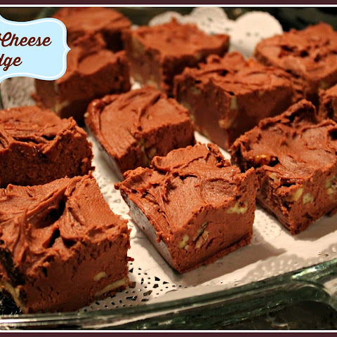 Cream Cheese Fudge!