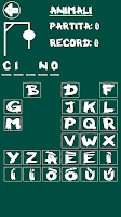 Screenshot of Hangman (Italian)