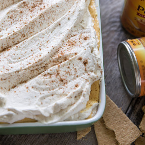 No Bake Pumpkin Cheesecake Icebox Cake