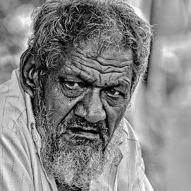 Power by Gunbir Singh - People Portraits of Men ( street, portrait men, agri univ, people )