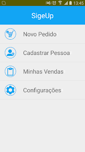 SigeUp Pedidos - screenshot