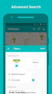WifiMapper - WLAN Kaarten Screenshot