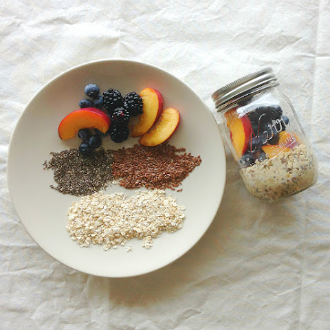 Ultimate Overnight Mason Jar Oatmeal