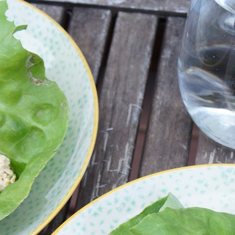 Vegetarian Lettuce Wraps - total time 30 minutes