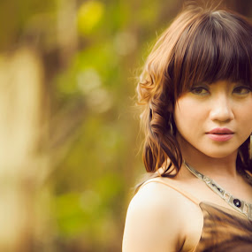 beauty woman by Lucky  Ariya wijaya - People Portraits of Women