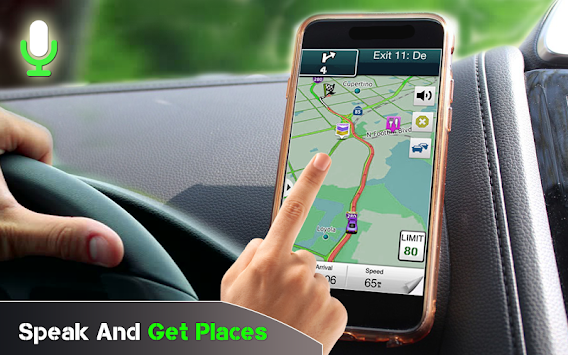 GPS Voice Driving Route Guide: Earth Map Tracking APK screenshot thumbnail 4