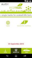 Screenshot of EcoTrail