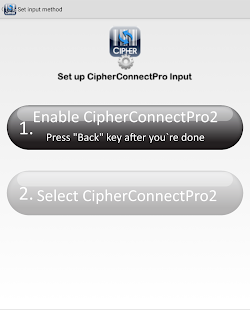 CipherConnect Pro2 - screenshot