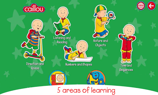 Caillou learning for kids