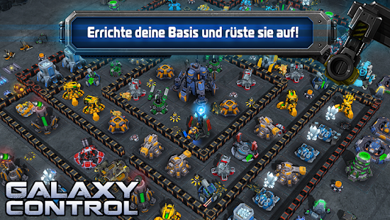 Galaxy Control: 3D-Strategie Screenshot