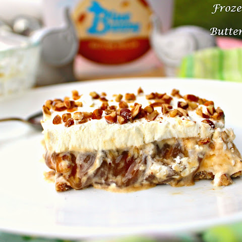 Frozen Caramel and Butter Pecan Pie