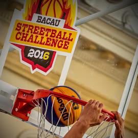 Streetball Challenge 2 by Ovidiu Sova - Sports & Fitness Basketball ( basketball, ball, action, play, sport, nets, game )