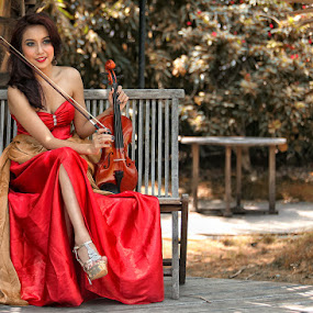++ VERO and VIOLIN ++ by Adithya Perdana Putra - People Fashion
