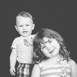 Siblings by Jenny Hammer - Babies & Children Children Candids ( sister, girl, brother, siblings, cute, boy )