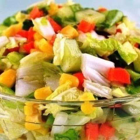 Low-Carb Vegetable Salad