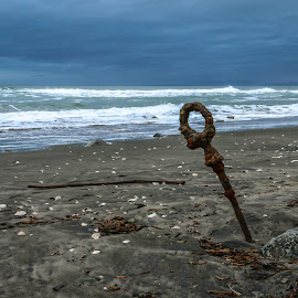 Beach Art by Kathy Suttles - Artistic Objects Industrial Objects