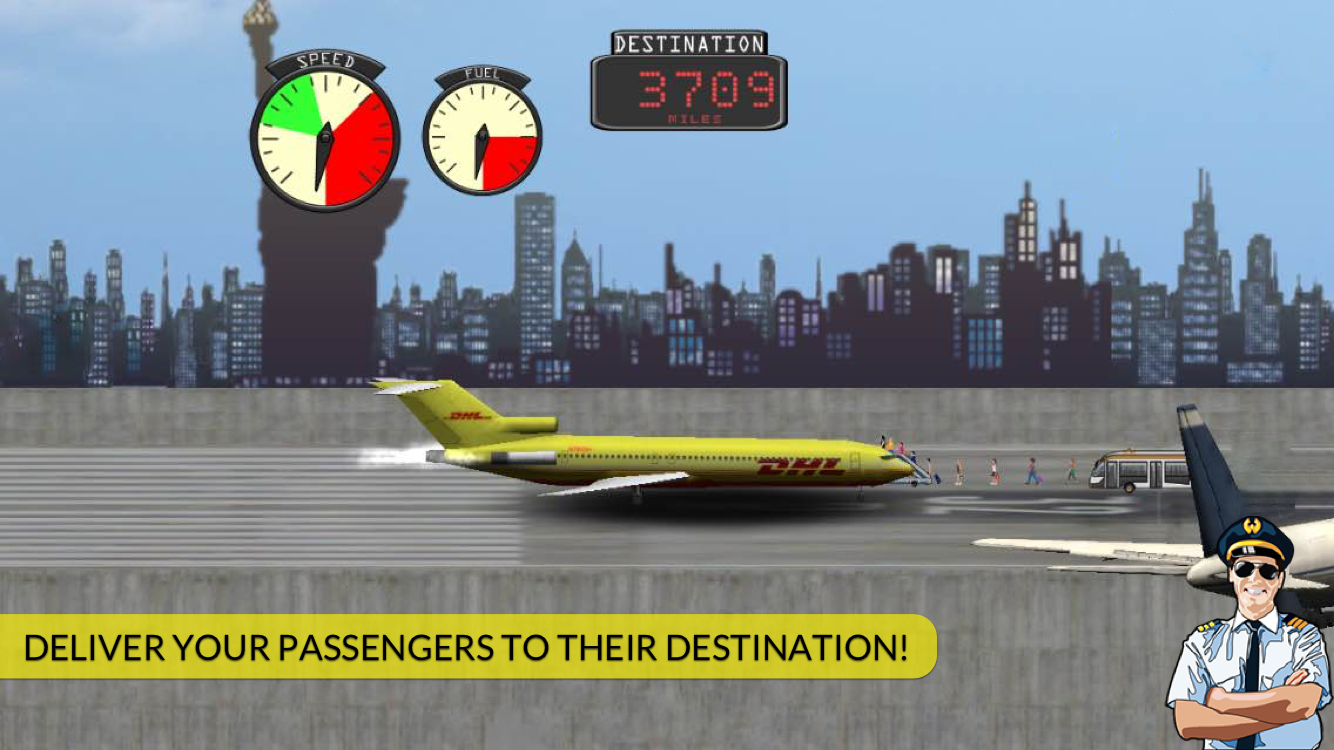 Transporter Flight Simulator ✈ Screenshot 4