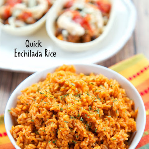 Quick Enchilada Rice