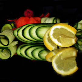 vegetables with fruits by LADOCKi Elvira - Food & Drink Fruits & Vegetables