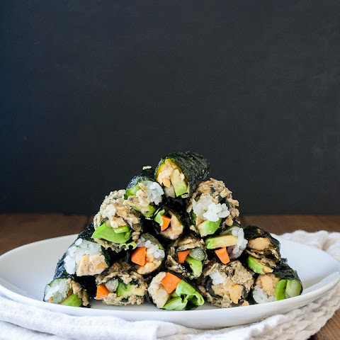 Seaweed Snack Roll Ups For Kids