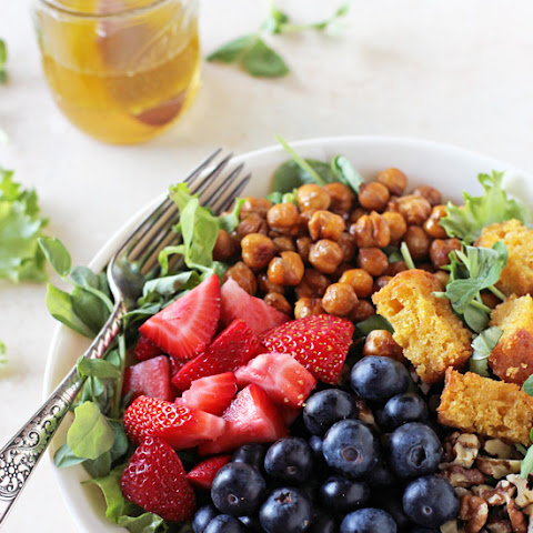 Summer Berry Chopped Salad